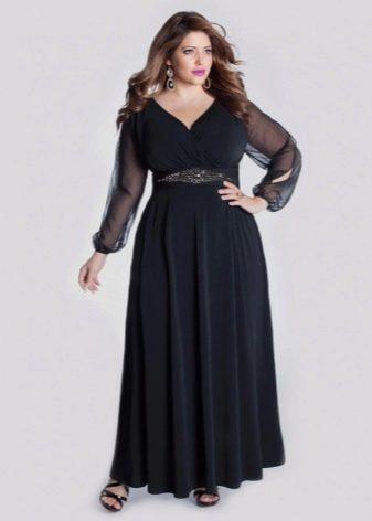 Вечернее платье от Igigi для полных