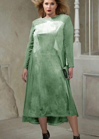 Вечернее платье от Eva Collection зеленое