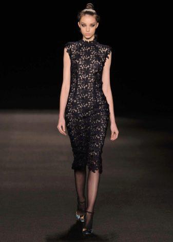 Короткое платье вечернее от Моник Люльер