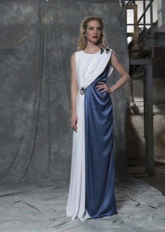 Вечернее платье в виде туники