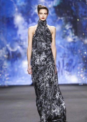 Вечерние платья от Naeem Khan серое