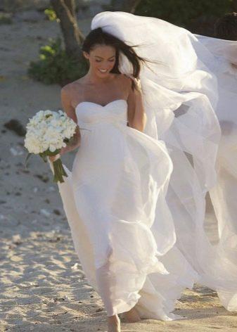 Свадебное платье Меган Фокс