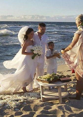 Свадебная церемония Меган Фокс