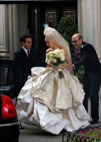 оригинальное свадебное платье от Vivienne Westwood