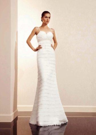 Свадебное платье многоярусное от Амур Бридал