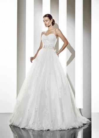 Свадебное платье из коллекции Альма пышное