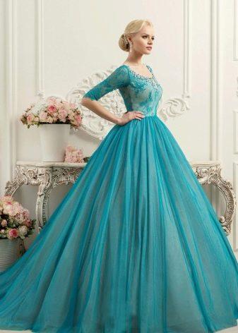 Свадебное платье бирюзовое из коллекции BRILLIANCE от Naviblue Bridal