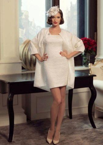 Свадебное платье короткое из коллекции Jazz Sounds Татьяны Каплун