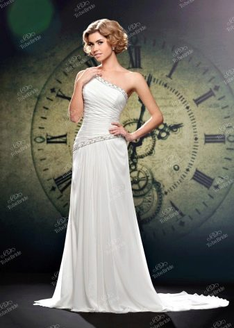 Свадебное платье на одно плечо от To Be Bride