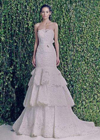 Свадебное платье русалка от Зухаира Мурада