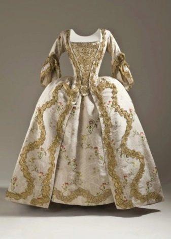 Свадебное платье конца 17 века