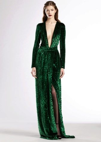 Как сшить красивое кружевное бархатное платье