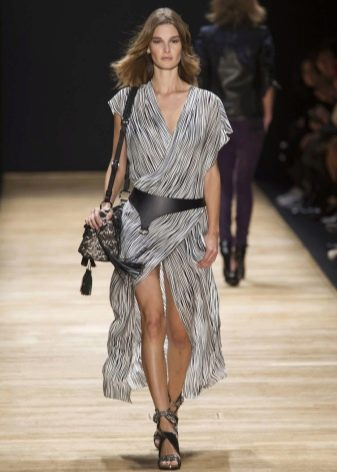 Платье-туника из шифона