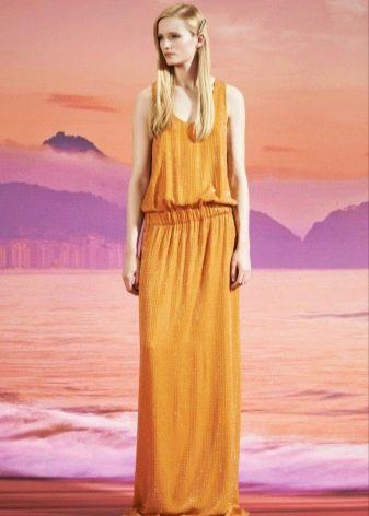 Платье для блондинки в пол