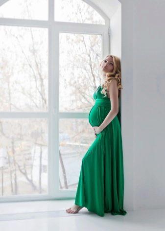 Нарядное платье для беременных женщин