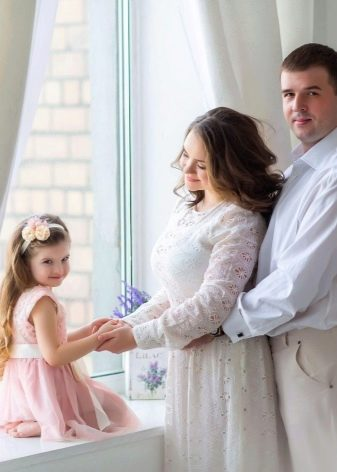 Красивое нарядное платье для беременной