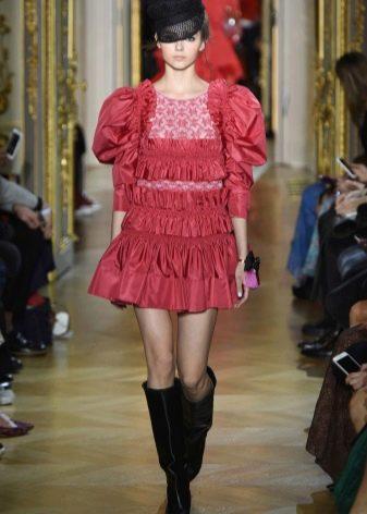 Красное платье от Ульяны Сергеенко