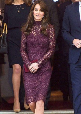Офисное нарядное платье Кейт Миддлтон