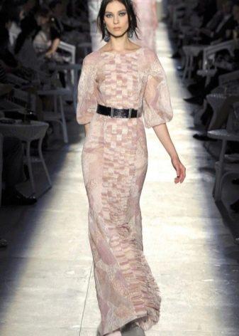 винтажное платье от Chanel из тюли