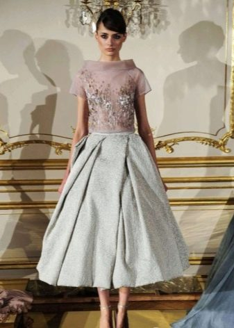 Платье в стиле нью лук