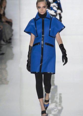 Платье цвета Mykonos Blue короткое