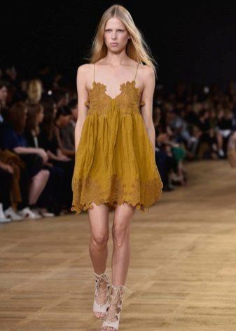 Платье цвета Oak Buff