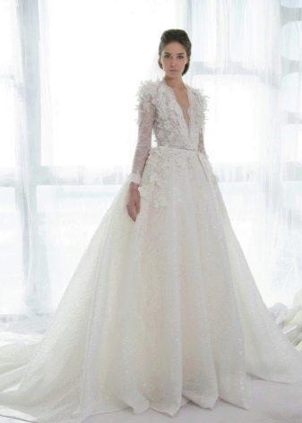 Свадебное платье дизайнерское