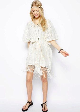 Платье кимоно из хлопка