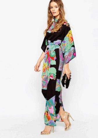 Босоножки к платью кимоно