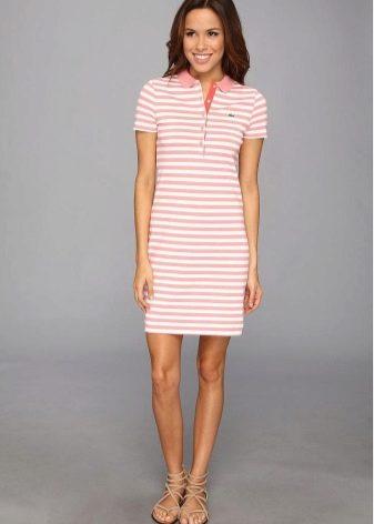 Длина платья-поло
