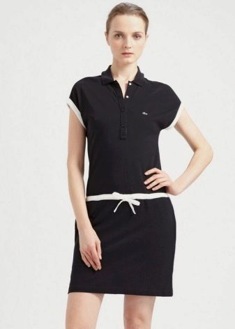 Платье-поло для женщин с полными бедрами