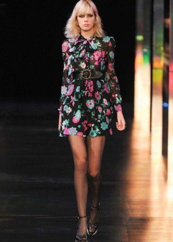 Платье рубашка от Ив Сен-Лоран