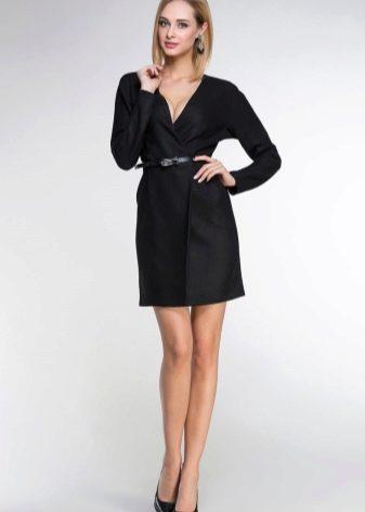 Платье с запахом для худых девушек