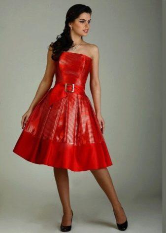 Платье Татьянка с открытыми плечами