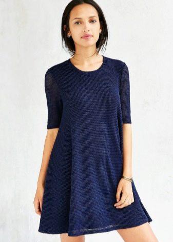 0958e3850 Платья-трапеция: модные короткие и длинные, с рукавами, для полных ...
