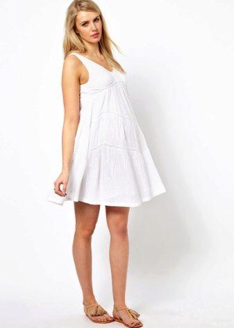 Платье трапеция для беременной