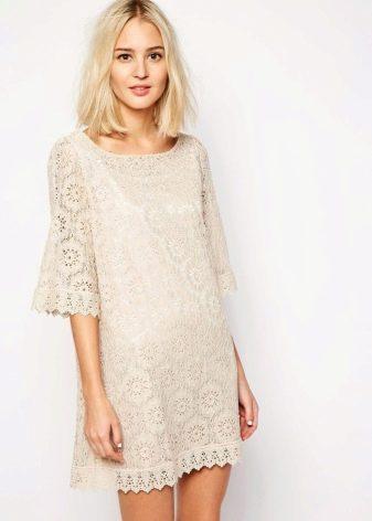 Прозрачное платье-туника