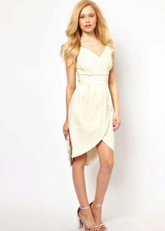 Платье тюльпан без рукавов