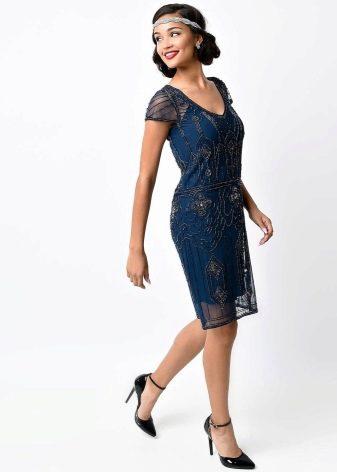 Повседневное платье в стиле гетсби