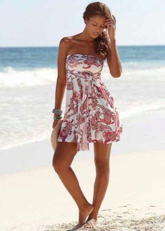 Платье-юбка с принтом