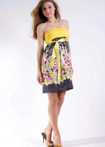 Босоножки к платью-юбка