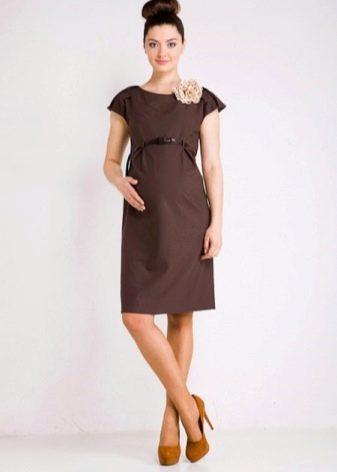Платье с завышенной талией для беренных