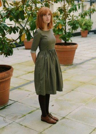 Средняя длина повседневного платья