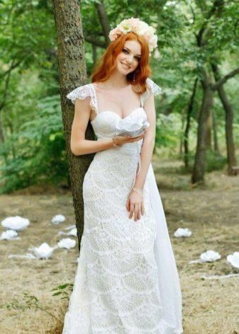 Вязаное свадебное платье Анны Радаевой
