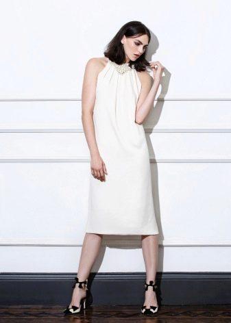 платье миди летнее
