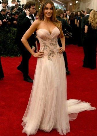 Платье-бюстье для женщин с фигурой Песочные часы