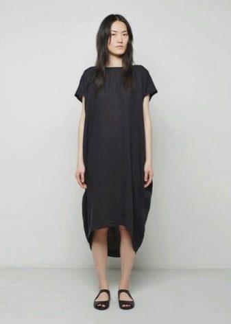Платье-мешок для стройных