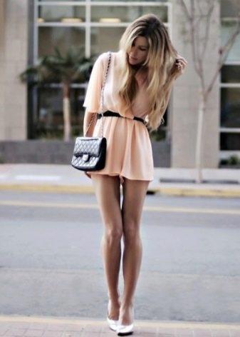 Летнее шифоновое платье с юбкой солнце