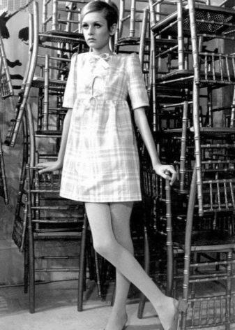 Стиль 60-х годов - платье Твигги