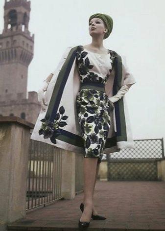 Верхняя одежда к платью в стиле 60-х